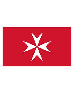 Tisch-Fahne / Tisch-Flagge: Malta 15x25cm
