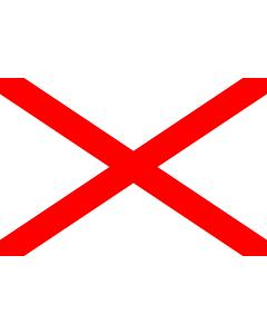 Flag: Ħal Luqa, Malta |  landscape flag | 2.16m² | 23sqft | 120x180cm | 4x6ft