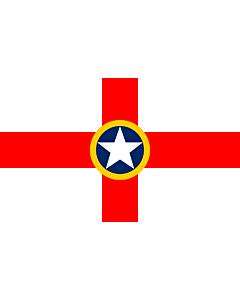 Flagge: Large Mosta | Tal-Mosta  |  Querformat Fahne | 1.35m² | 90x150cm
