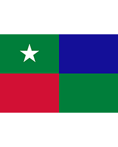 Flag: Standard of the Prime Minister of the Maldives |  landscape flag | 0.06m² | 0.65sqft | 20x30cm | 8x12in