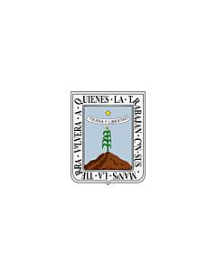 Flagge: XXS Morelos  |  Querformat Fahne | 0.24m² | 40x60cm
