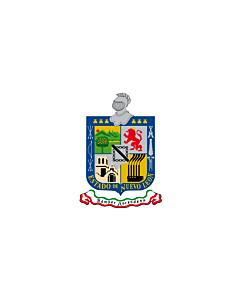 Flagge: XXS Nuevo León  |  Querformat Fahne | 0.24m² | 40x60cm