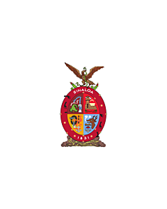Flagge: XXS Sinaloa  |  Querformat Fahne | 0.24m² | 40x60cm