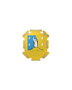 Flagge: XXXL+ San Luis Potosí  |  Querformat Fahne | 6.7m² | 200x335cm