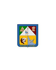 Flagge: XXS Sonora  |  Querformat Fahne | 0.24m² | 40x60cm