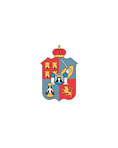 Flagge: XXS Tabasco  |  Querformat Fahne | 0.24m² | 40x60cm