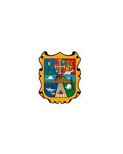 Flagge: XXXL+ Tamaulipas  |  Querformat Fahne | 6.7m² | 200x335cm