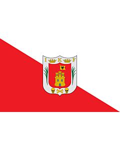 Flagge: XXXL+ Tlaxcala  |  Querformat Fahne | 6.7m² | 200x335cm