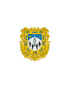 Flagge: XXXL+ Zacatecas  |  Querformat Fahne | 6.7m² | 200x335cm
