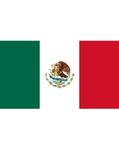 Flagge: Large Mexiko  |  Querformat Fahne | 1.35m² | 90x150cm