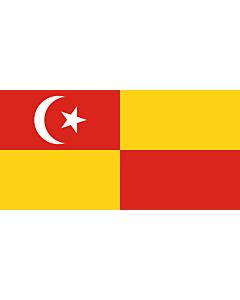 Flagge: XXXL+ Selangor  |  Querformat Fahne | 6.7m² | 180x360cm