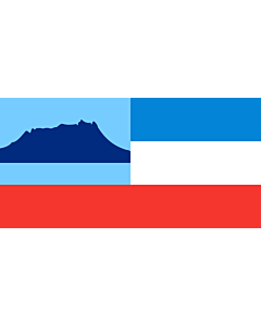 Flagge: XXXL+ Sabah  |  Querformat Fahne | 6.7m² | 180x360cm