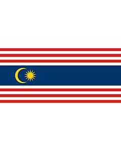 Flagge: XXXL+ Kuala Lumpur  |  Querformat Fahne | 6.7m² | 180x360cm