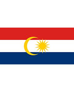 Flagge: XXXL Labuan  |  Querformat Fahne | 6m² | 170x340cm