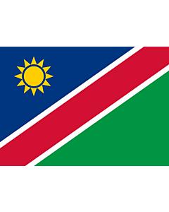 Flag: Namibia |  landscape flag | 0.7m² | 7.5sqft | 70x100cm | 2x3ft