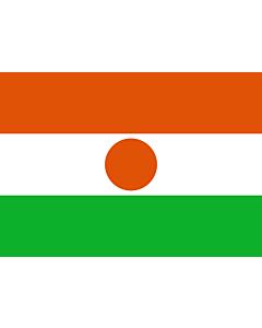 Flag: Niger |  landscape flag | 0.7m² | 7.5sqft | 70x100cm | 2x3ft