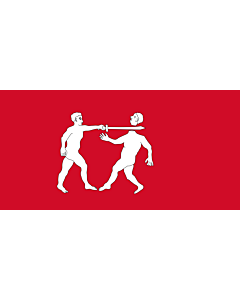 Flag: Benin Empire Note See the National Maritime Museum s pages Flag of Benin and Flags  Collections by type for photographs of the original |  landscape flag | 0.06m² | 0.65sqft | 20x30cm | 8x12in