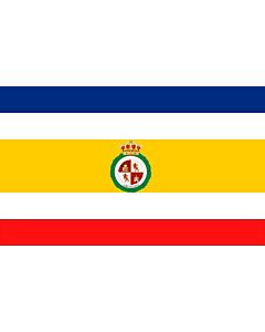 Drapeau: Granada, Nicaragua |  drapeau paysage | 1.35m² | 90x150cm