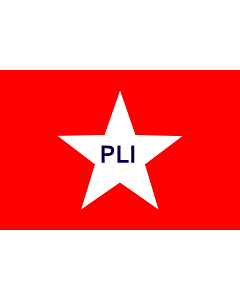 Flag: PLI |  landscape flag | 0.06m² | 0.65sqft | 20x30cm | 8x12in