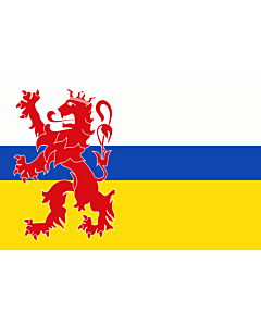 Flag: Limburg |  landscape flag | 0.24m² | 2.5sqft | 40x60cm | 1.3x2foot