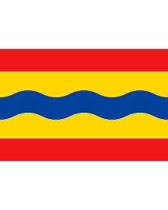 Flag: Overijssel |  landscape flag | 0.24m² | 2.5sqft | 40x60cm | 1.3x2foot