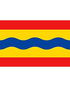 Flag: Overijssel |  landscape flag | 6.7m² | 72sqft | 200x335cm | 6x11ft