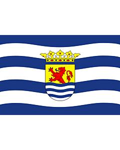 Flag: Zeeland |  landscape flag | 0.24m² | 2.5sqft | 40x60cm | 1.3x2foot
