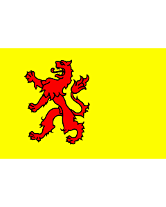 Flag: South Holland |  landscape flag | 6.7m² | 72sqft | 200x335cm | 6x11ft