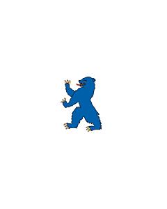Flagge: XXS Buskerud  |  Querformat Fahne | 0.24m² | 40x60cm