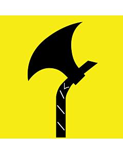 Flagge: XXS Telemark  |  Fahne 0.24m² | 50x50cm