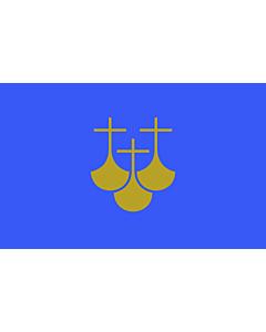 Flagge: XXS Møre og Romsdal  |  Querformat Fahne | 0.24m² | 40x60cm