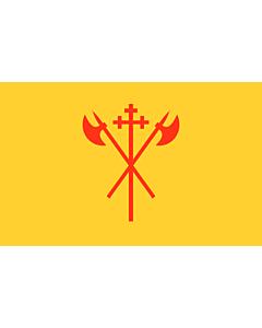 Flagge: XXS Sør-Trøndelag  |  Querformat Fahne | 0.24m² | 40x60cm