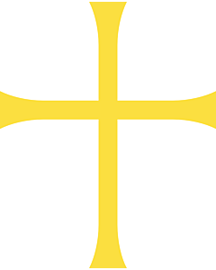 Flagge: XXS Nord-Trøndelag  |  Hochformat Fahne | 0.24m² | 55x45cm