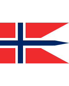 Indoor-Flag: Norway 90x150cm