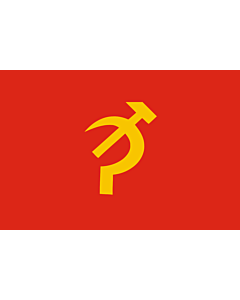 Flag: Np uf |  landscape flag | 1.35m² | 14.5sqft | 90x150cm | 3x5ft
