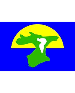 Bandera: Chatham Islands | チャタム諸島の旗 |  bandera paisaje | 2.16m² | 120x180cm