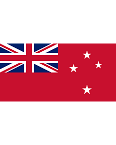 Drapeau: Civil Ensign of New Zealand |  drapeau paysage | 1.35m² | 80x160cm