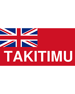 Drapeau: NZ-Takitimu | Design data from FOTW |  drapeau paysage | 1.35m² | 80x160cm