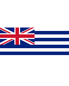 Drapeau: Proposed flag of New Zealand 1834 | A proposed New Zealand flag |  drapeau paysage | 2.16m² | 100x220cm