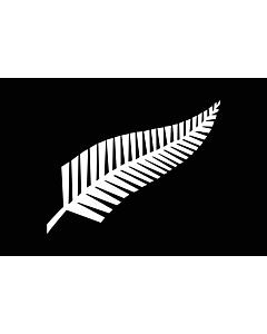 Bandera de Interior para protocolo: Silver fern | A Silver Fern flag, a proposed new New Zealand | Silberfarn-Flagge 90x150cm