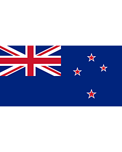 Indoor-Flag: New Zealand 90x150cm