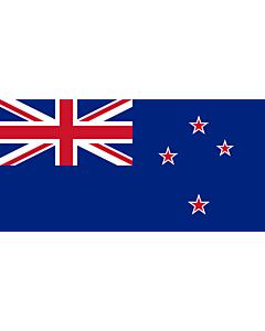 Bandera de Interior para protocolo: Nueva Zelanda 90x150cm