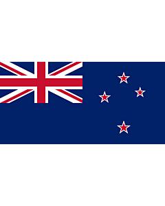Bandera: Nueva Zelanda |  bandera paisaje | 0.135m² | 25x50cm