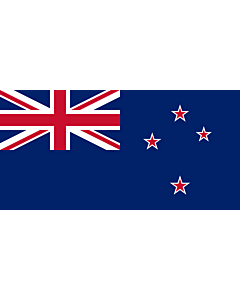 Table-Flag / Desk-Flag: New Zealand 15x25cm