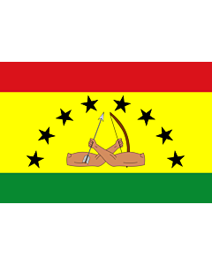 Flag: Guna Yala according to the last page of this document |  landscape flag | 1.35m² | 14.5sqft | 90x150cm | 3x5ft