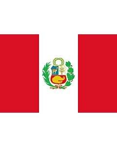 Indoor-Flag: Peru 90x150cm