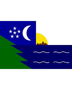 Flag: Paita |  landscape flag | 1.35m² | 14.5sqft | 90x150cm | 3x5ft