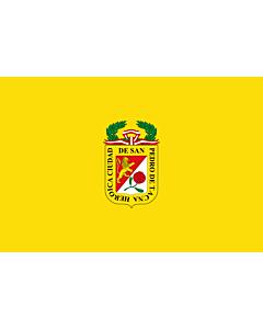 Drapeau: Tacna | Tacna city | Ciudad de Tacna |  drapeau paysage | 2.16m² | 120x180cm