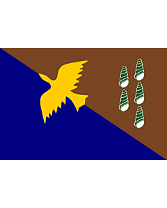 Flag: Manus, province of Papua New Guinea |  landscape flag | 1.35m² | 14.5sqft | 90x150cm | 3x5ft