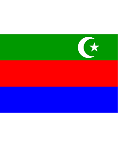 Flag: State of Makran | Historical Pakistani state of Makran |  landscape flag | 2.16m² | 23sqft | 120x180cm | 4x6ft
